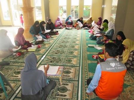 RZ Cilegon Fasilitasi Warga Ramanuju Belajar Baca Tulis Al-Qur'an
