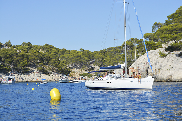 Calanques de Marseille en bateau