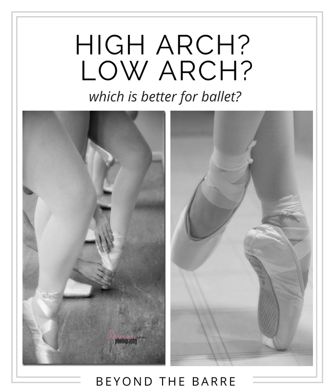 Ballet Pointe Feet High Arches Low
