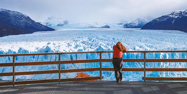 Passarela do Glaciar Perito Moreno em El Calafate