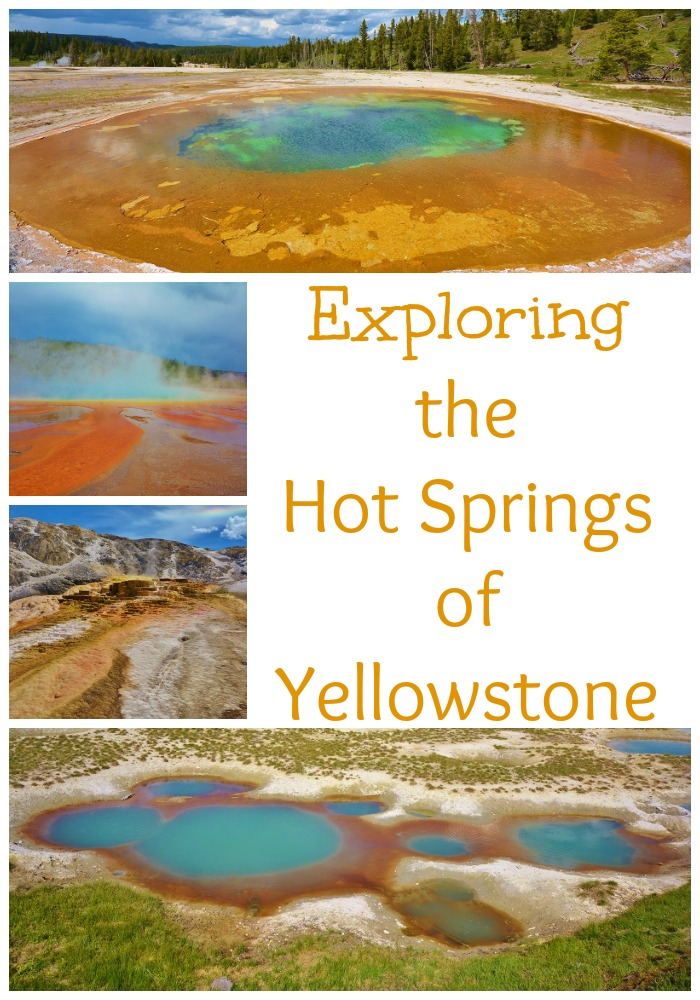 Find out where you can find the most beautiful displays of color within #Yellowstone National Park. #70dayroadtrip #travel #travelblogger