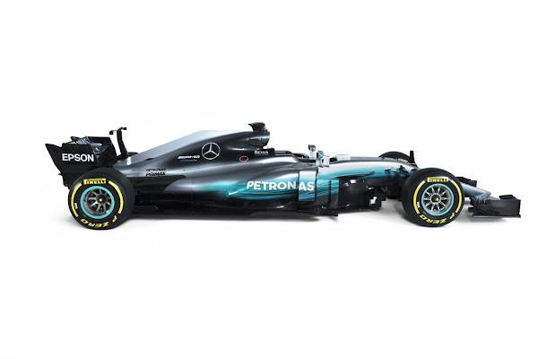 2017 F1 W08 Mercedes