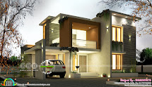 Modern Contemporary Box Model House 2500 Square Feet