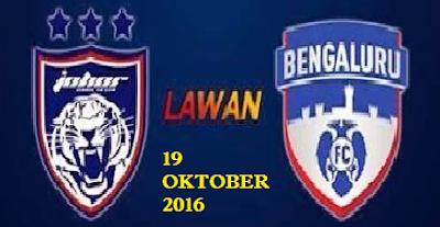 Keputusan JDT Vs Bengaluru FC 19 Oktober 2016