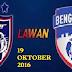 Live Streaming Keputusan JDT Vs Bengaluru FC 19 Oktober 2016