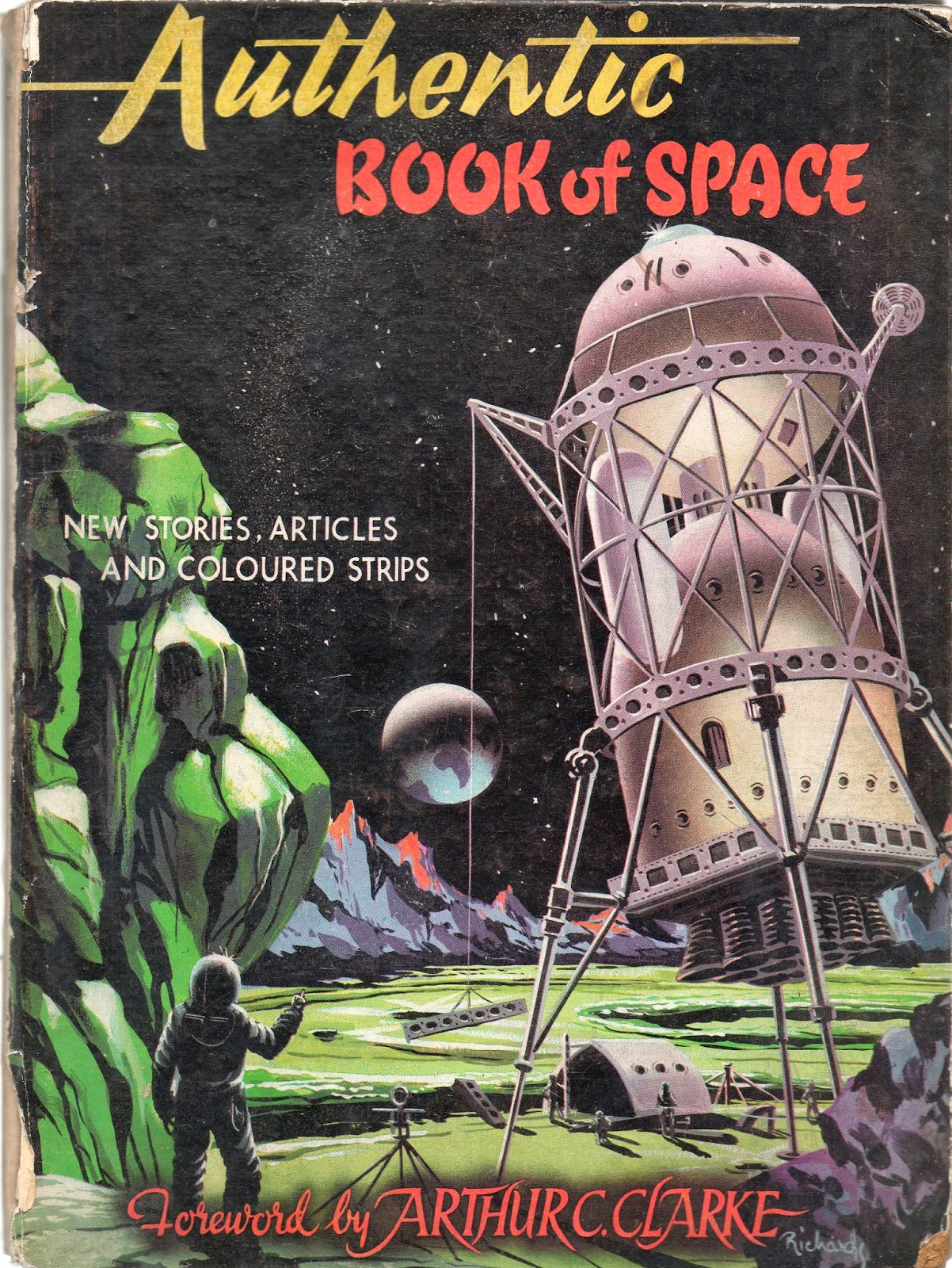 1954 Mars Red Planet - Pics about space