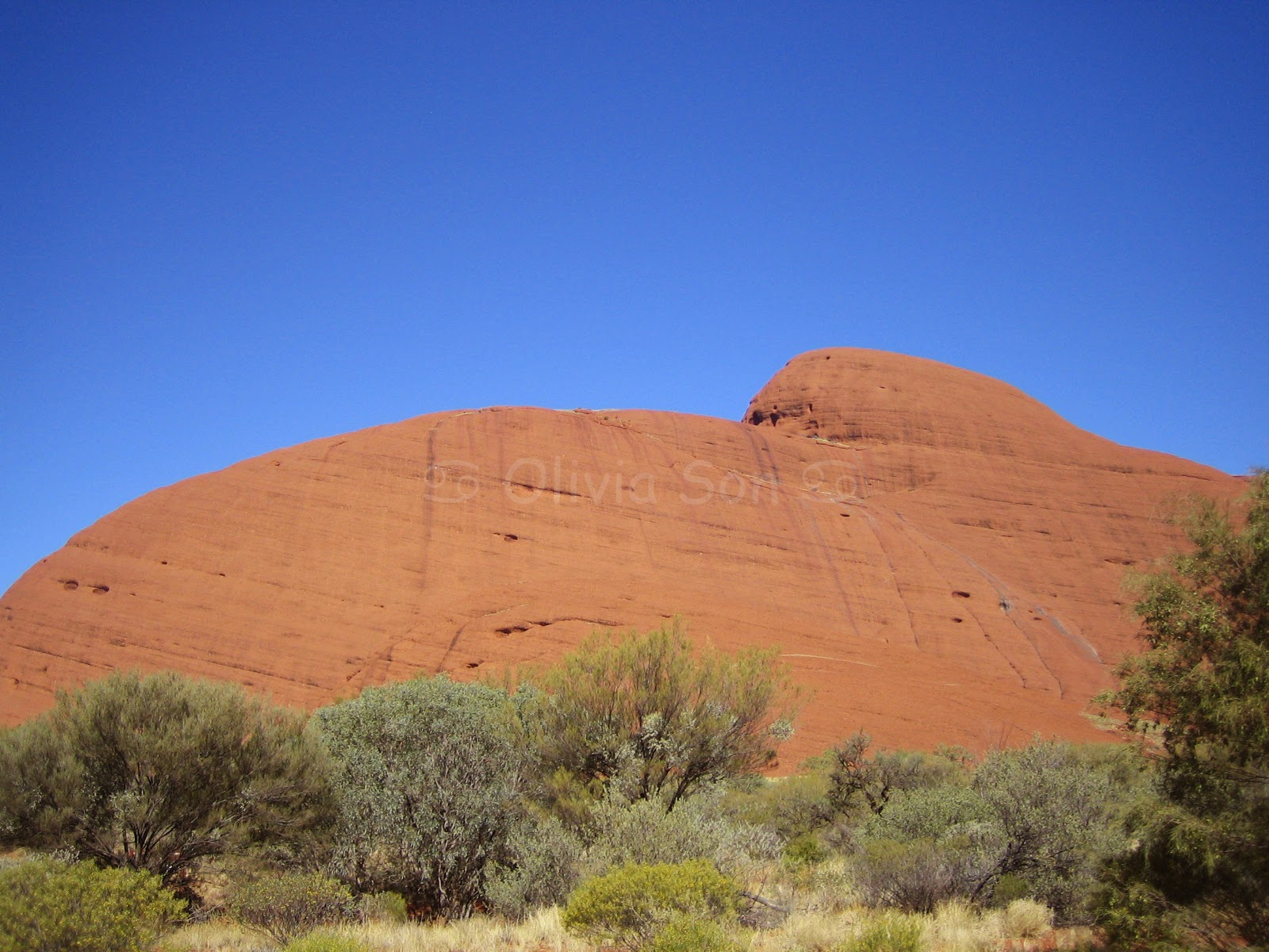 Kata Tjuta (The Olgas), Australie