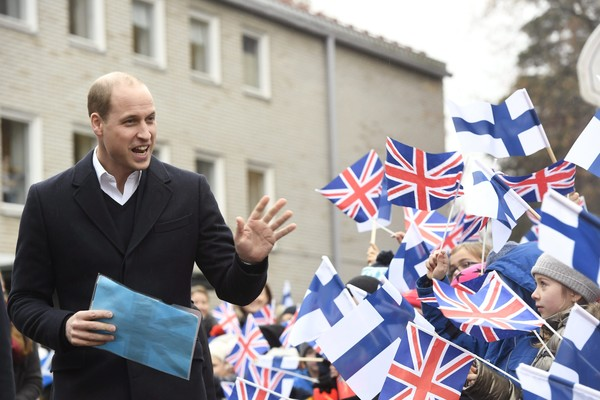 Oficjalna wizyta księcia Williama w Finlandii - Dzień II (ostatni)