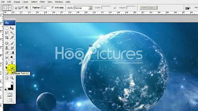 Membuat Tulisan Mengikuti Bentuk di Photoshop - Type on a Path - Hog Pictures