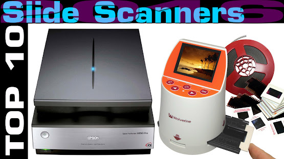 Top 10 Review Products-Top 10 Slide Scanners 2016