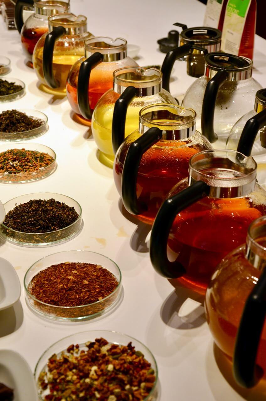 Demmer Tee und Leschanz Schokolade Verkostung