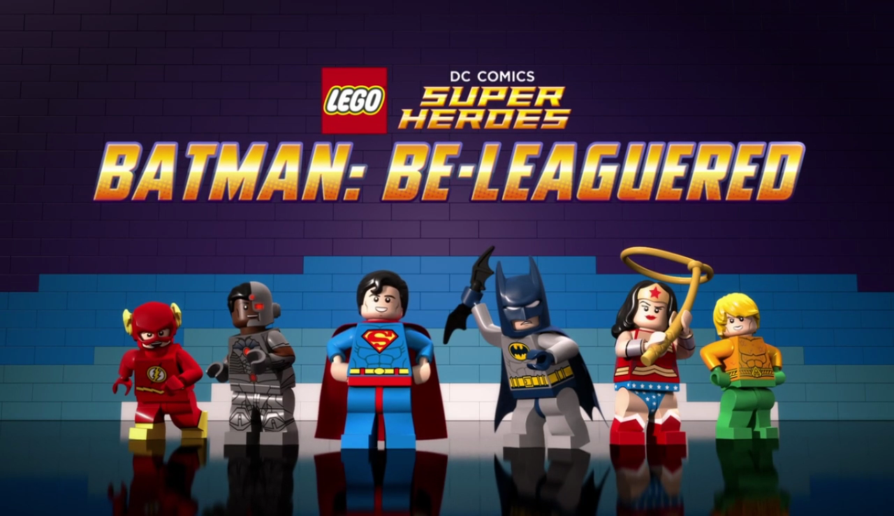 LEGO DC Super Heroes: Batman Be-Leaguered (2014) (720P ...