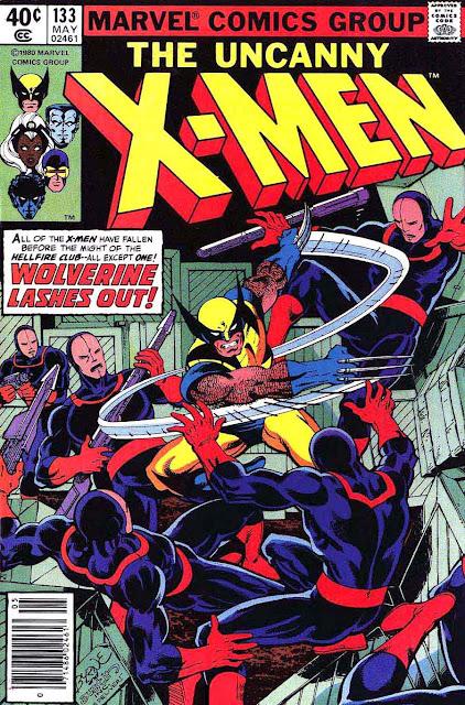 X-men v1 #133 marvel comic book cover art by John Byrne