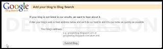 Cara Ping Blog Agar Cepat Terindex Oleh Mesin Pencarian