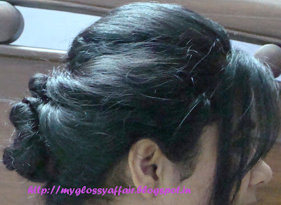 messy bun - hairstyle for long or medium hair