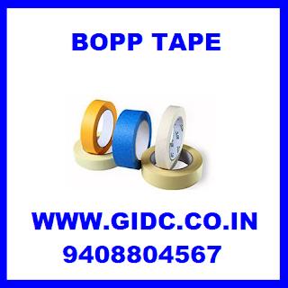 bopp tape gidc gujarat rajkot morbi vadodara ahmedabad manufacturer supplier