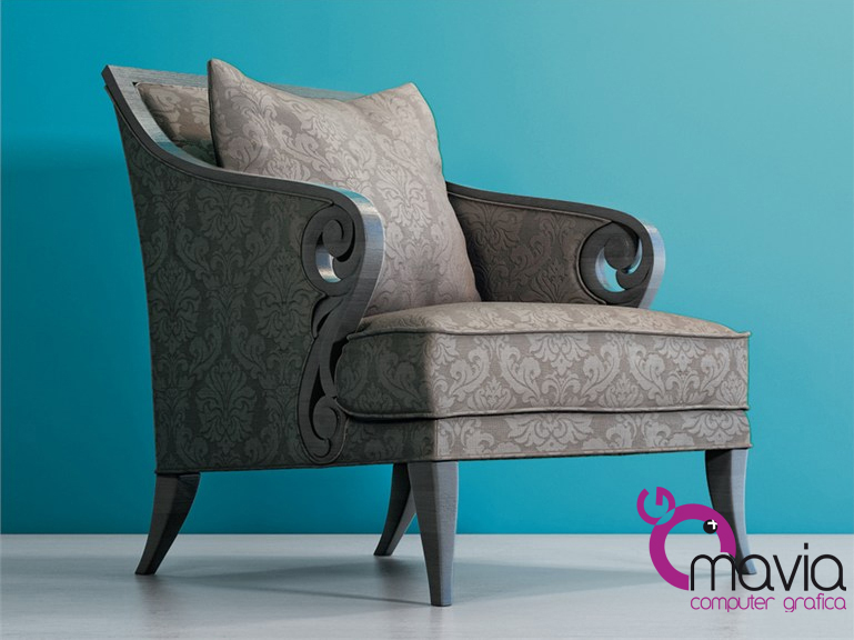 Arredamento di interni poltrone e sofa 3d rendering i for Poltrone e sofa
