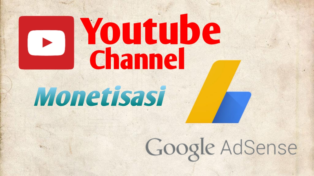 Cara mengaitkan channel youtube ke Google AdSense