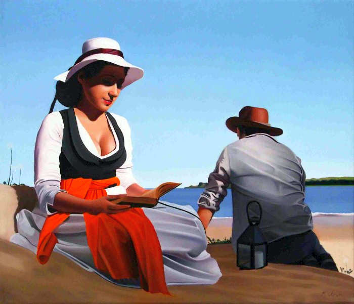 Элегантность в живописи. Michael de Bono 9