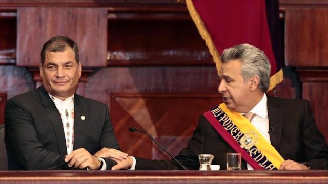 Correa: Moreno busca inhabilitarme para próximas elecciones