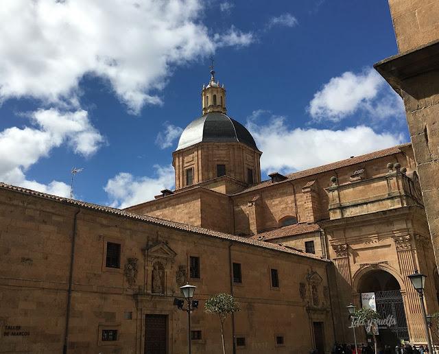 Iglesia de la Purísima Salamanca, exterior