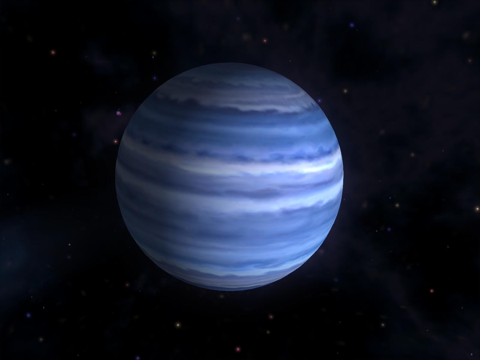 gambar planet neptunus