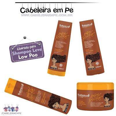 Linha Enfim Cachos - Bothânico Hair Condicionador, Máscara, Creme e Geleia