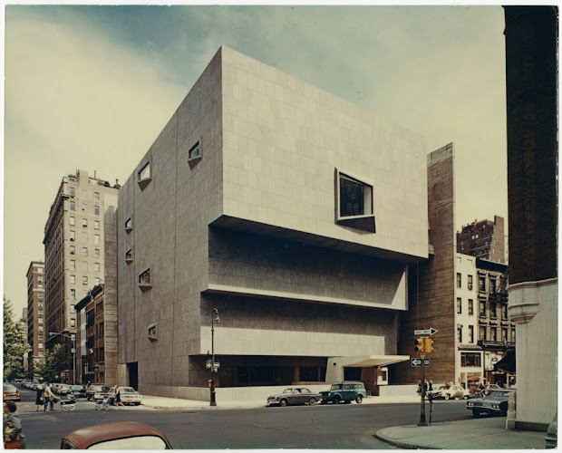 Marcel Breuer Whitney Museum of American Art