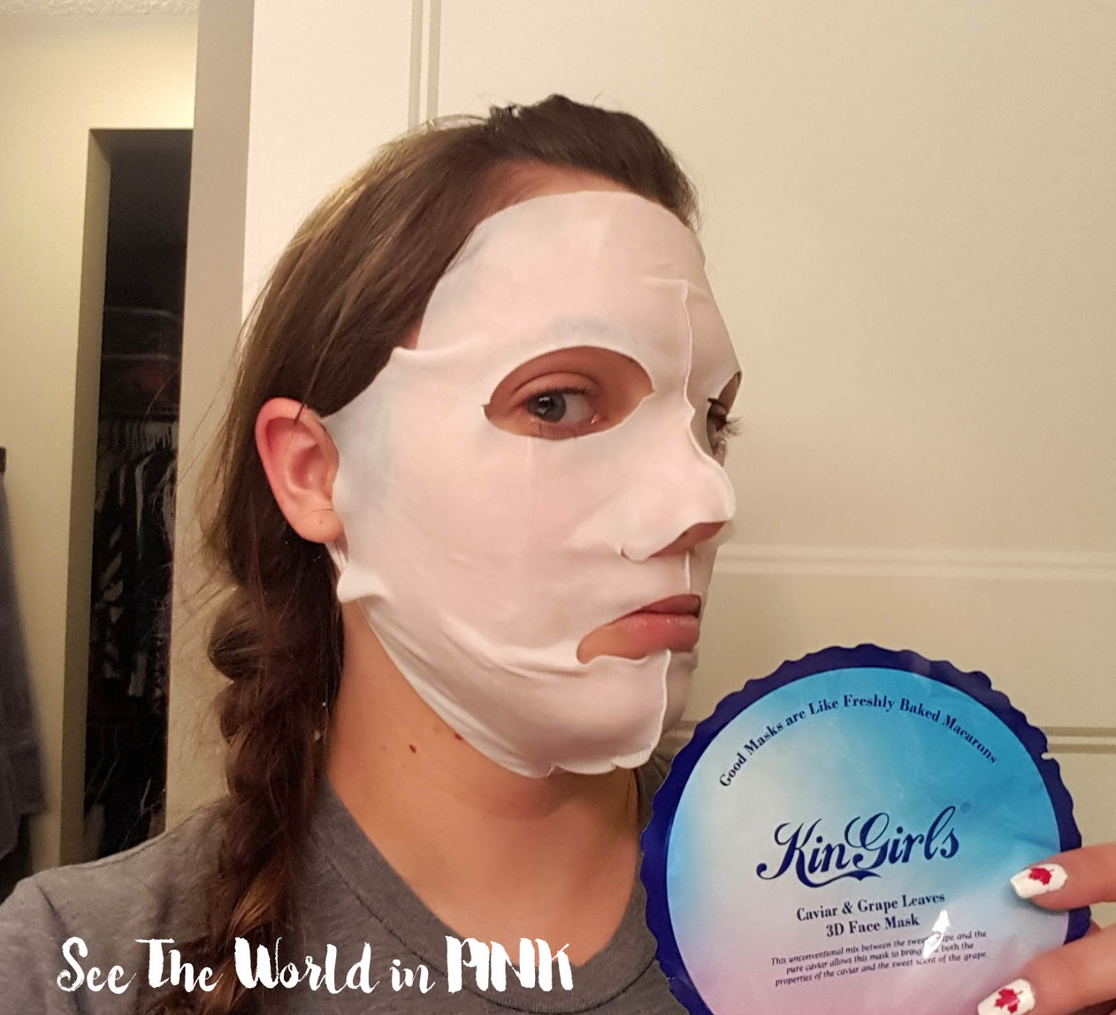 Mask Wednesday - KinGirls Mask Reviews + $5 Off Coupon Code At Beautibi!