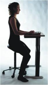 sit straight