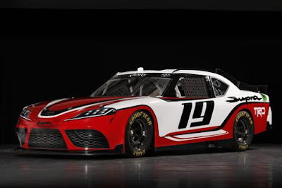 Toyota's Supra build for the 2019 NASCAR Xfinity Series