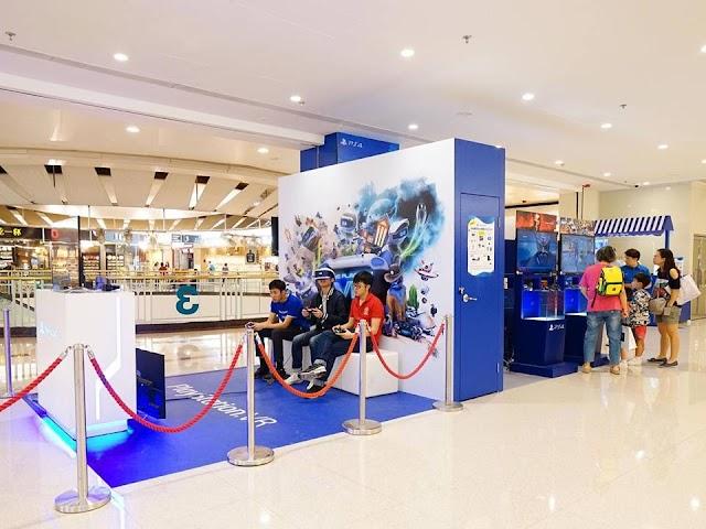 【電玩】荷里活廣場舉行「PlayStation 動感嘉年華」 免費試玩VR遊戲