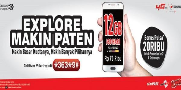 Paket Internet Murah Telkomsel New TAU dan New Explore Terbaru