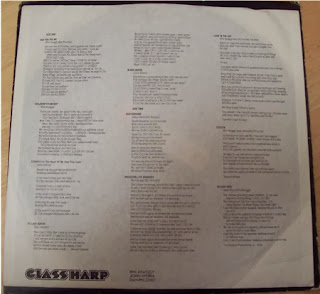 Glass Harp Album Lyrics