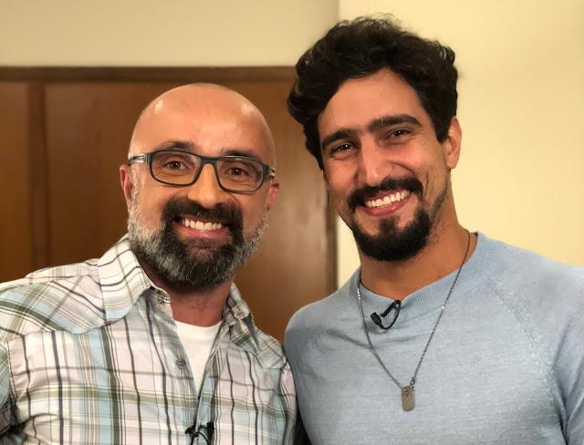 """""""Cinejornal"""" traz entrevista especial com Renato Góes neste sábado no Canal Brasil"""