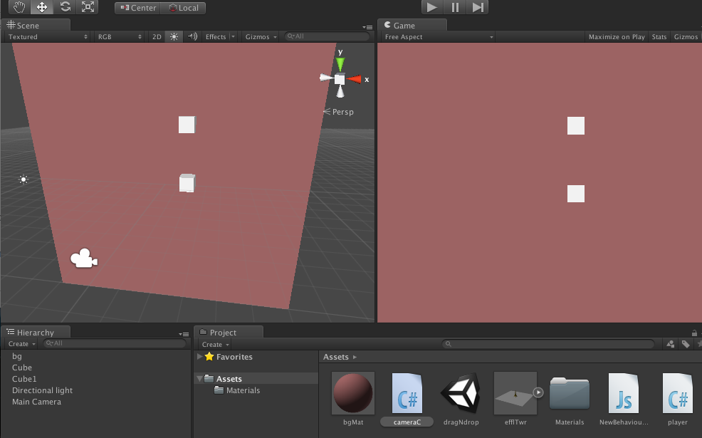 Rotate object with mouse click or touch in Unity3D