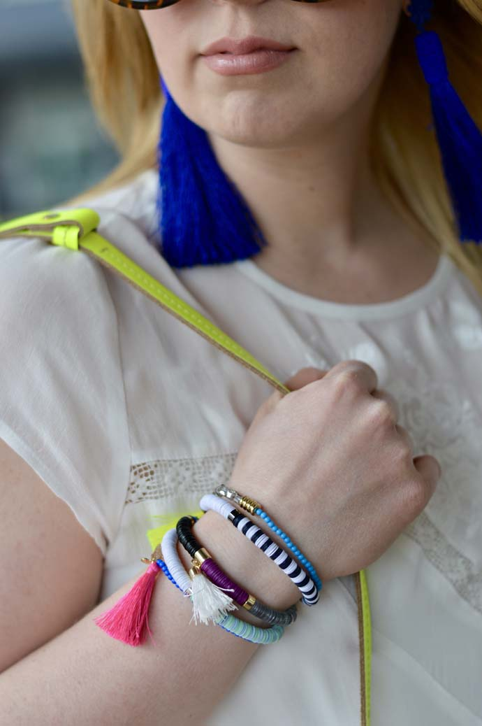 Colorful Tassel Bracelets @rachmccarthy7