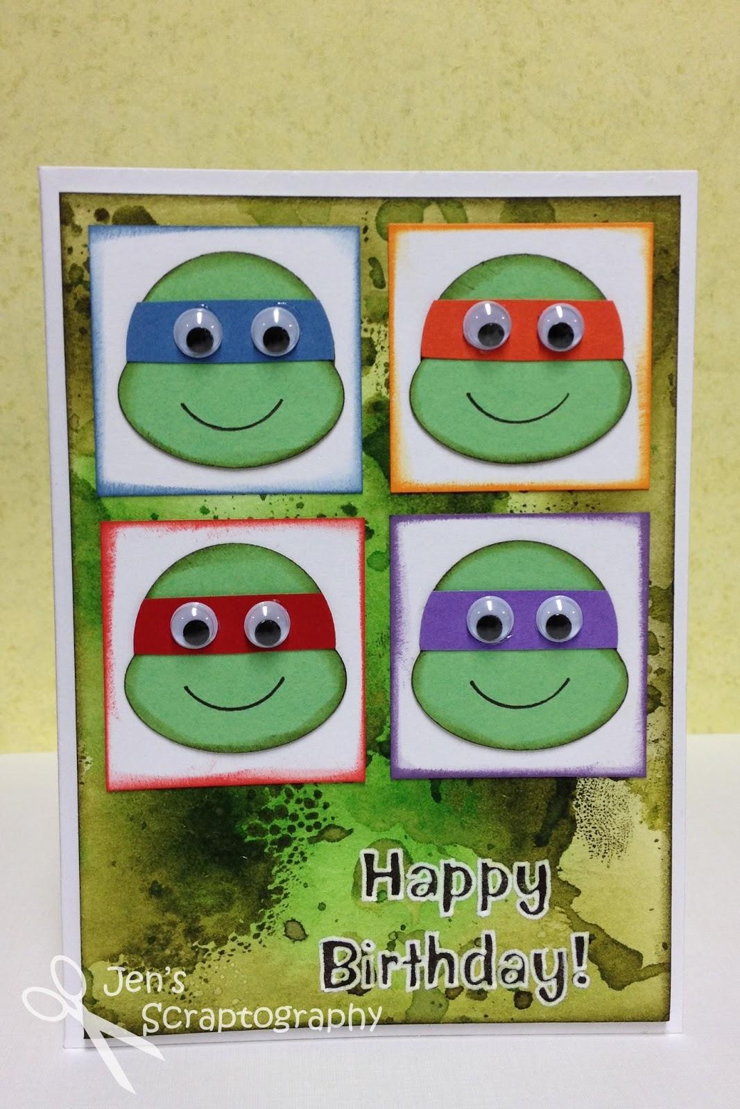Открытка приятного, открытки черепашки ниндзя своими руками