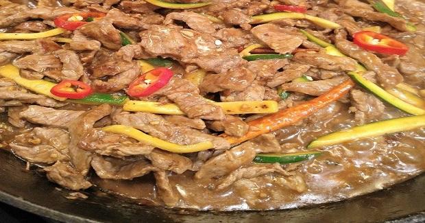 Gluten Free Spicy Beef With Zucchini Recipe