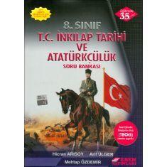 Esen 8.Sınıf T.C. İnkılap Tarihi ve Atatürkçülük Soru Bankası (2017)
