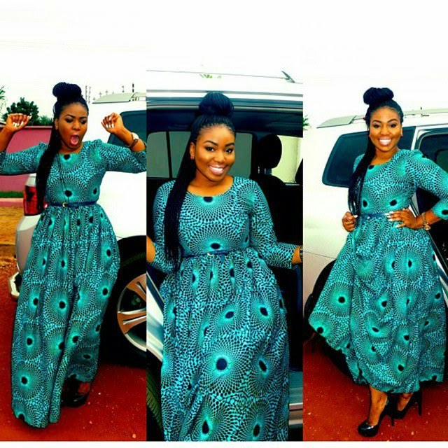 Flattering Ankara Gown Styles 2017 for Lovely Ladies - Zaineey\'s Blog