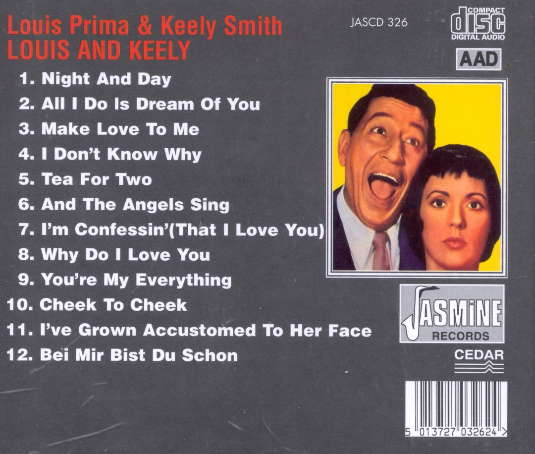 Louis Prima and Keely Smith - Louis and Keely