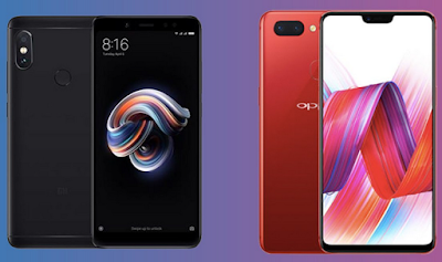 Perbedaan Oppo F7 vs Xiaomi Redmi Note 5 Lebih Bagus Mana?