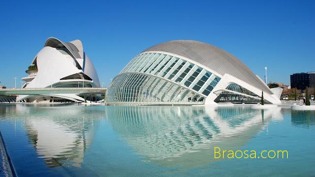 Città delle Arti e della Scienza di Valencia