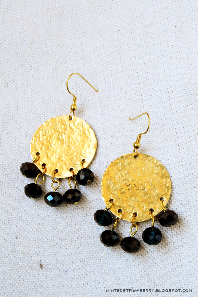 anthropologie style boho earrings