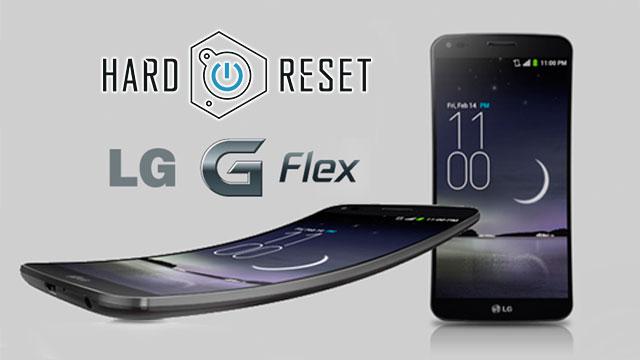 como resetear un LG Flex y LG Flex 2