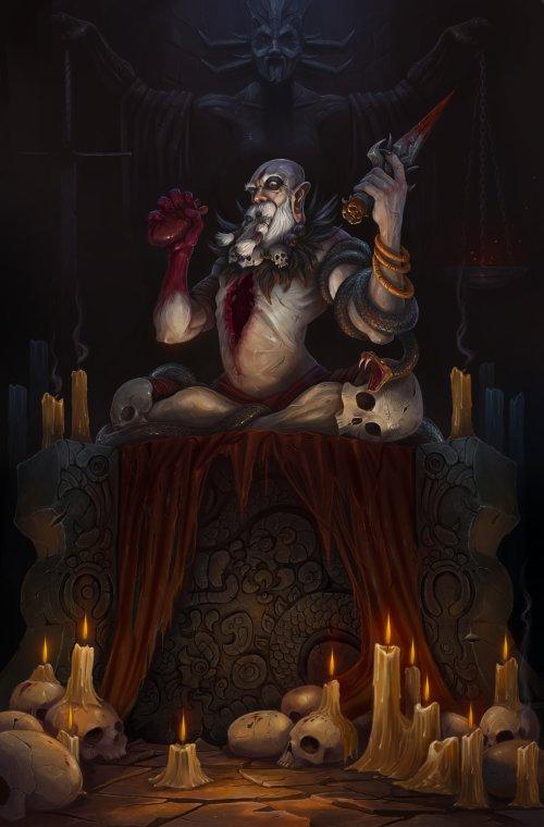 Tony Sart artstation arte ilustrações fantasia terror games sombrio