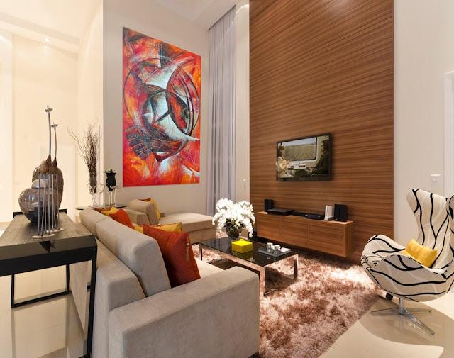 Contoh aksesoris untuk design interior rumah minimalis tipe 36