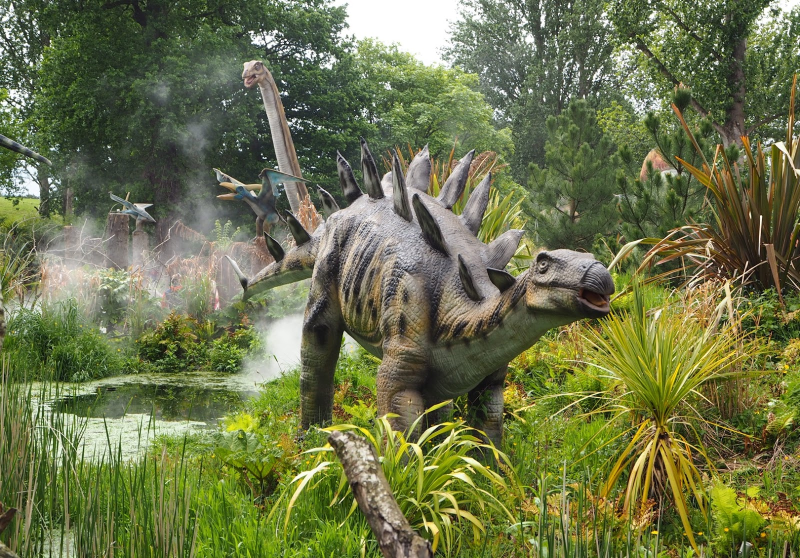 west midland safari park land of the dinosaur