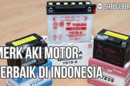 5 Merk Aki Motor Terbaik di Indonesia